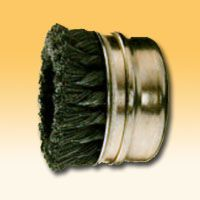 Brush Wire Cup Twisted Steel With Threaded Nut, 5/8''/ 65mm 12500rpm, PFERD (TBG65/5/8ST0.50)