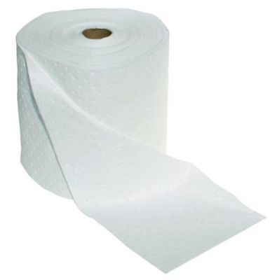 Roll, absorbent, laminated, Oil/Fuel, 50m x 500mm, 200gsm, 10/pack. SPILL STATION (WR211)