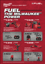 FUEL THE MILWAUKEE POWER