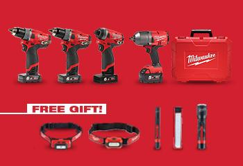 MILWAUKEE NEW PRODUCTS LAUNCH OFFER